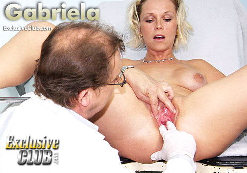 gabriela pussy speculum, double dildo therapy,cumshot dildo therapy