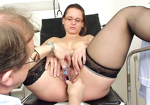 Nasty gynecologist and his special gyno exams 4