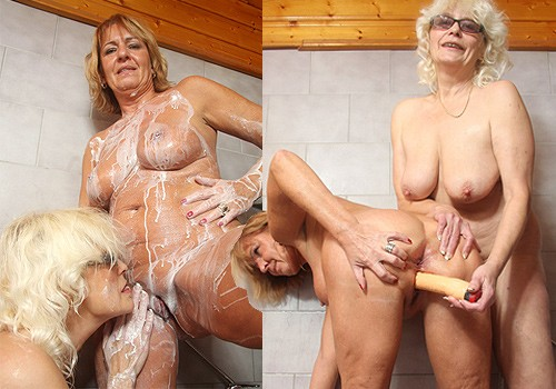 MomLovesMom.com halina pic 2 500x350 Ature Mexican Women Naked Free   Halina and Anastazie the amateur mom bi lovers wash each other's body than fuck their muff with a plastic schlong BoysLoveMatures :: Alana&Tobias boy and naughty mom