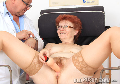 ope jindriska pic blogs Free Mature Bab Es   Redhead dame in glasses playing with a fake dick during her gyno Milfs On Sticks