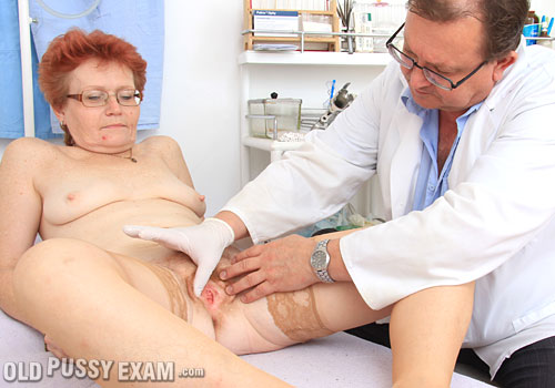 ope jindriska vid blogs Mature Male Seniors Daddies Hairy Blog   Gynecologist test Jindriska's bushy pink vagina in the inquiry chair StraponedMoms   Free Movie Gallery